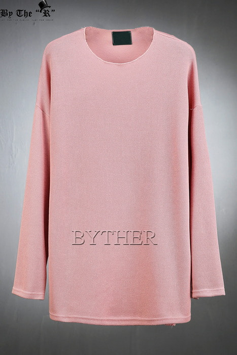 Basic Loose Fit Soft Knit Sweatshirts