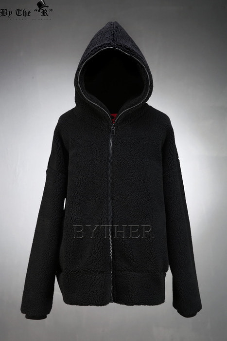 ByTheR Woolen Hoodie Zip-up