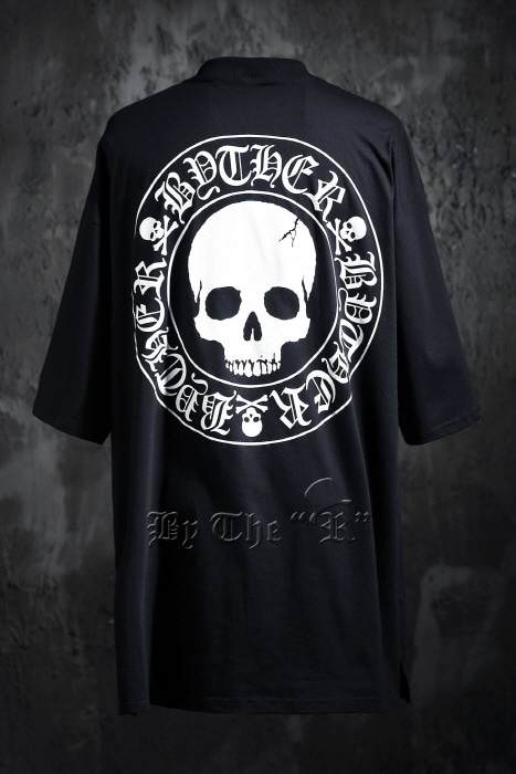 ByTheR Skull Logo Loose-fit T-shirt