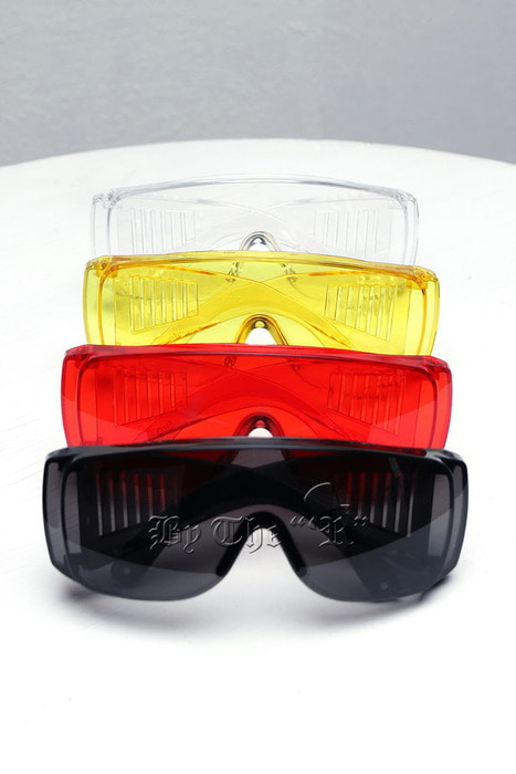 Colored Goggle Sunglasses