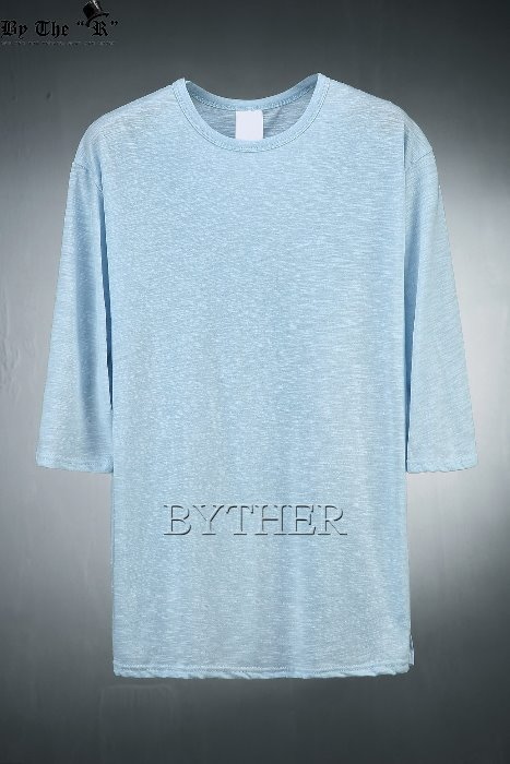 Loose Fit 3/4 Sleeve T-shirts