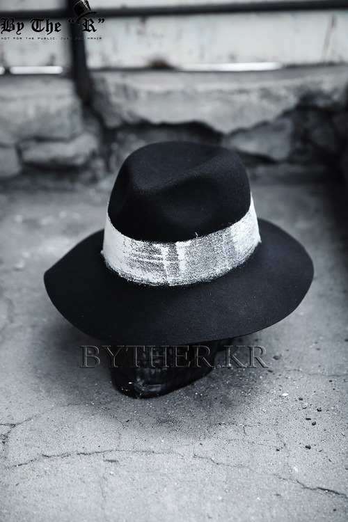ByTheR Custom Round Painting Felt hat
