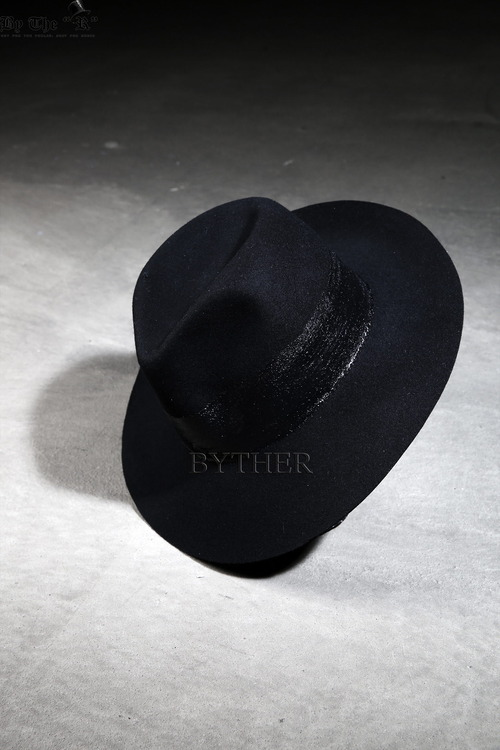 ByTheR Black Line Fedora
