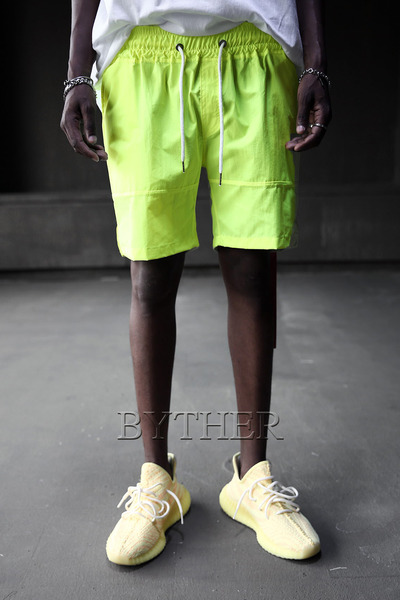 Neon Color Banding Shorts