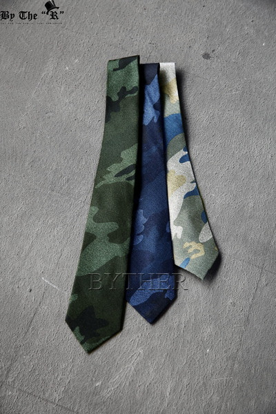 Colored Camouflage Neck-tie