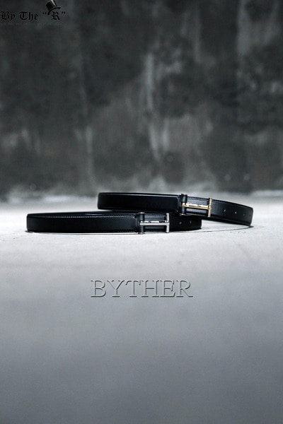 Simple T Buckle Leather Belt