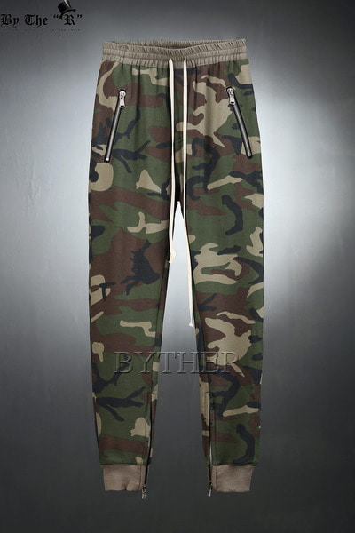 Ankle Zipper Training Jogger Pants