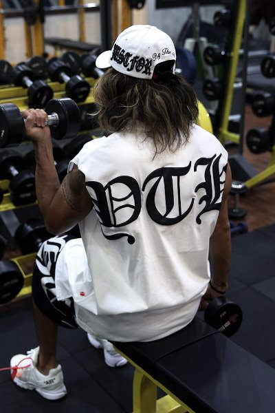 ByTheR Big Lettering Logo Printing Tank Top